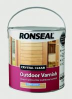 Ronseal Crystal Clear Outdoor Varnish 2.5L - Satin